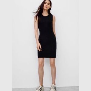Wilfred 'Shayk Reposa' Black Midi Dress